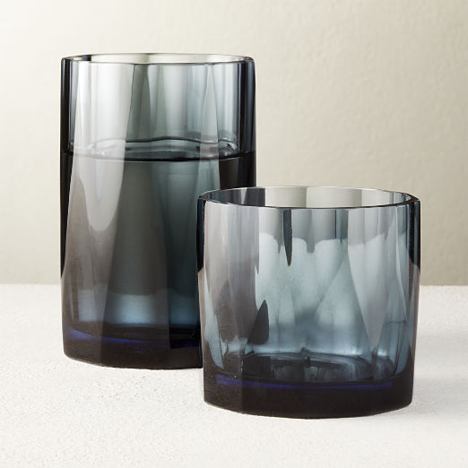 Point Dusty Blue Barware