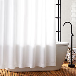 york modern shower contemporary white save curtain bath designs curtains allmodern