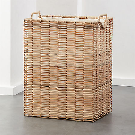 Pomona Rattan Hamper With Liner