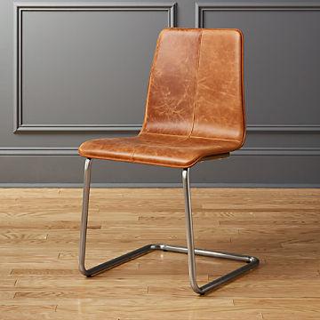 Terrific Leather Chairs Cb2 Inzonedesignstudio Interior Chair Design Inzonedesignstudiocom