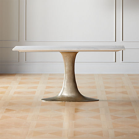 Pool White Marble Console Table