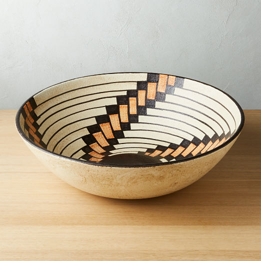Porta Ceramic Centerpiece Bowl