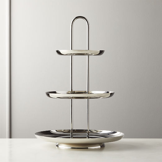 Unique Serving Trays Stands Cb2 Canada