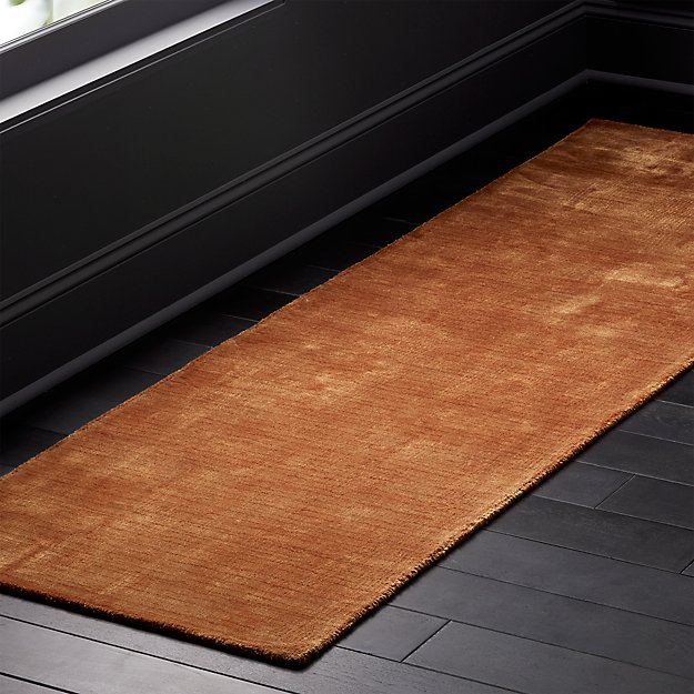 Posh Camel Runner 2.5'x8' - Image 1 of 3