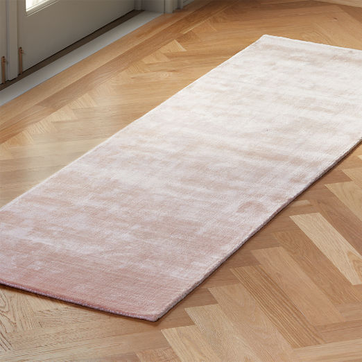 Posh Pink Distressed Runner 2.5'x8'