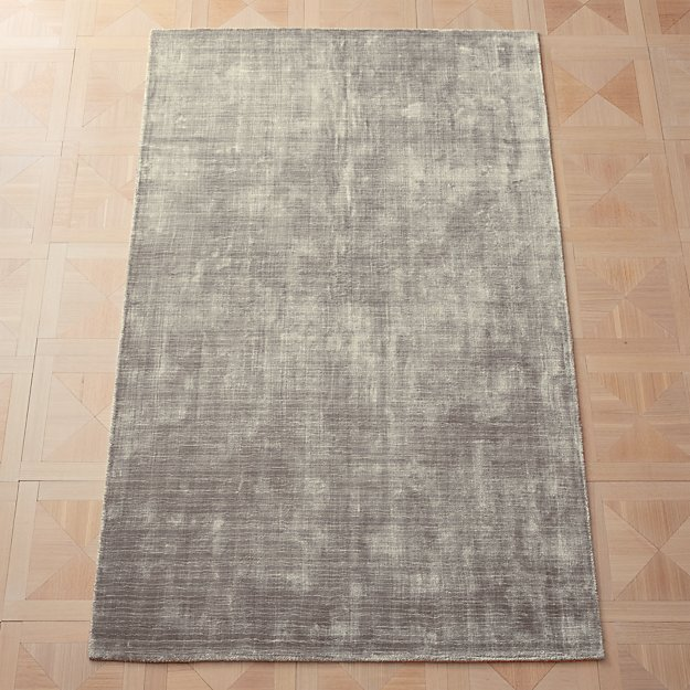 Posh Silver Grey Rug - Image 1 of 11