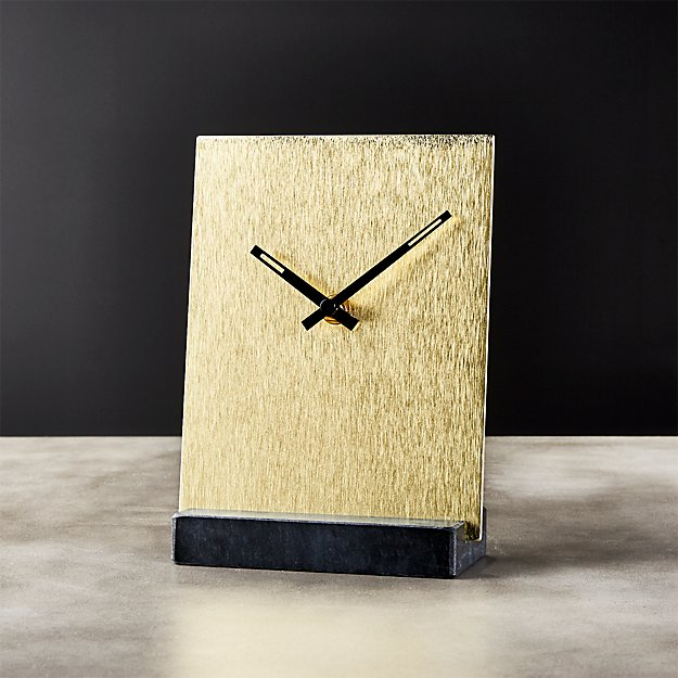 Tunnell Clock + Reviews | CB2