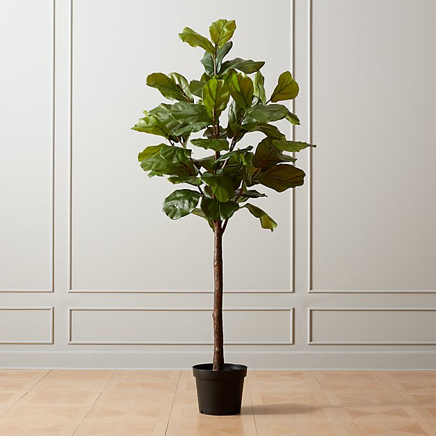Faux Potted Fiddle Leaf Fig 7' - Image 1 of 4