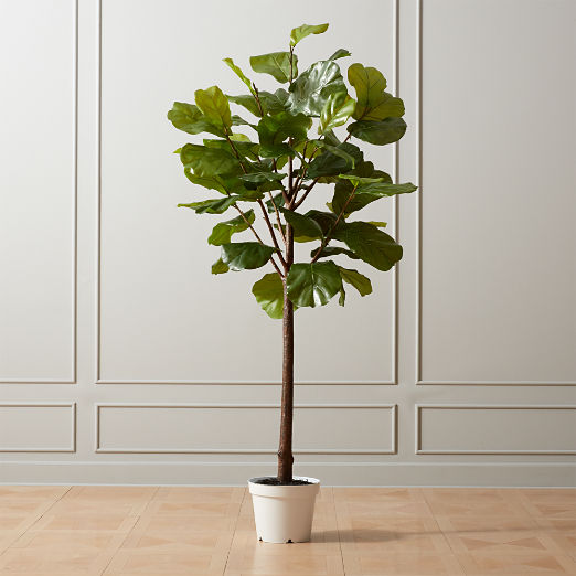 Faux Potted Fiddle Leaf Fig 7'