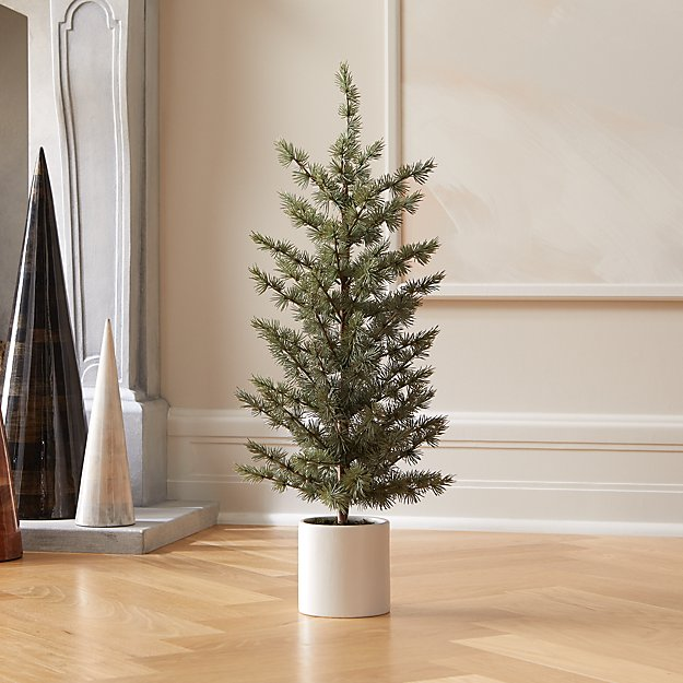 """Potted Pine Tree 30"""" - Image 1 of 2"""
