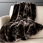 View product image Premium Grey Faux Fur Throw - image 1 of 8