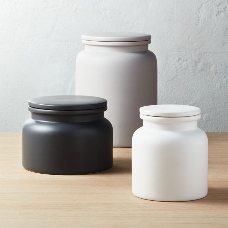 Cool Kitchen Canisters Part - 20: 3-Piece Prep Canister Set