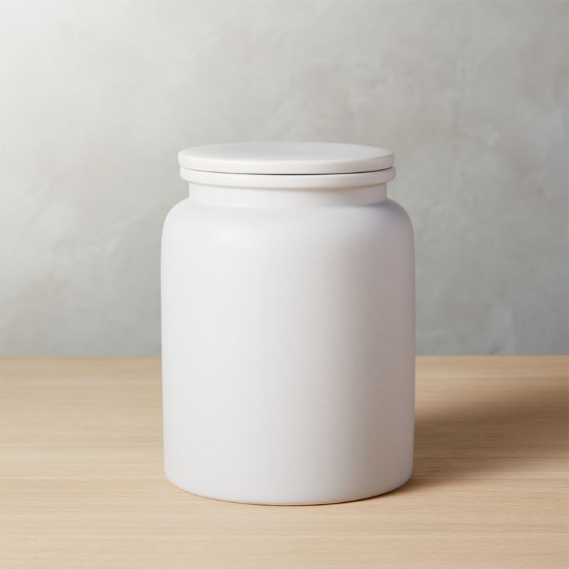 Prep Light Grey Large Canister