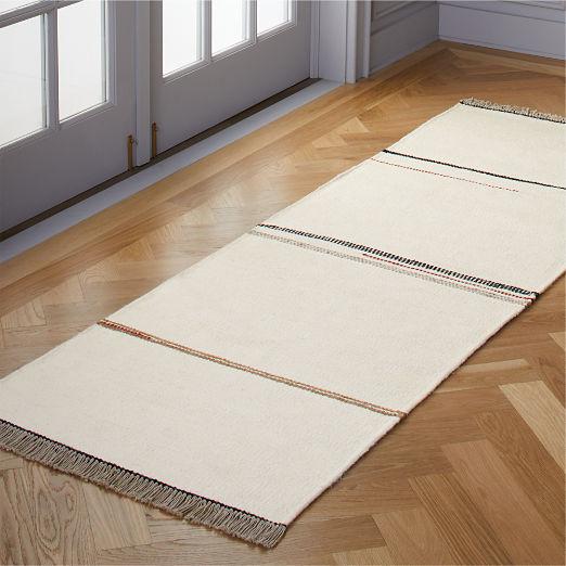 Preston Linen Blend Stripe Runner 2.5'x8'