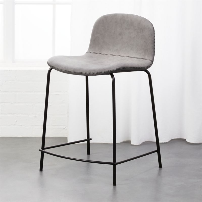 Leather Stools Cb2