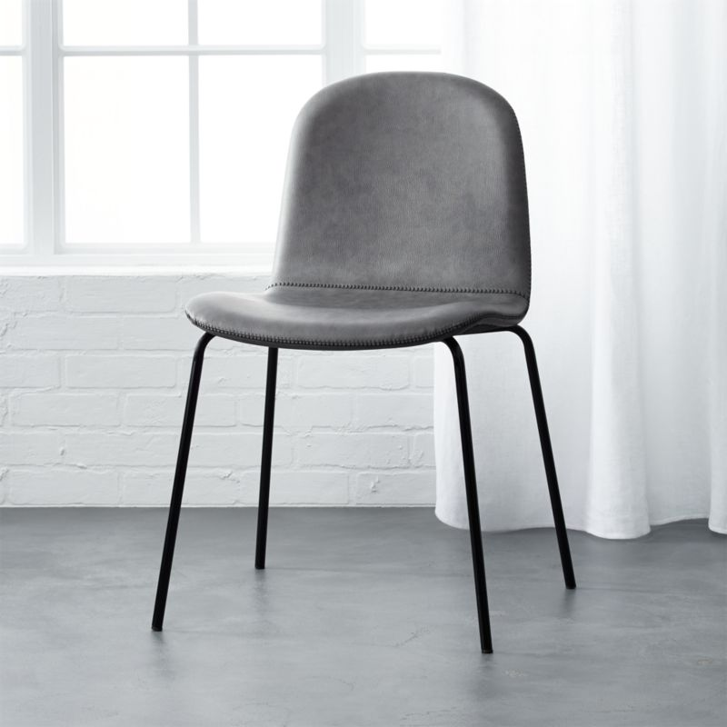 Grey Upholstered Chairs | CB2
