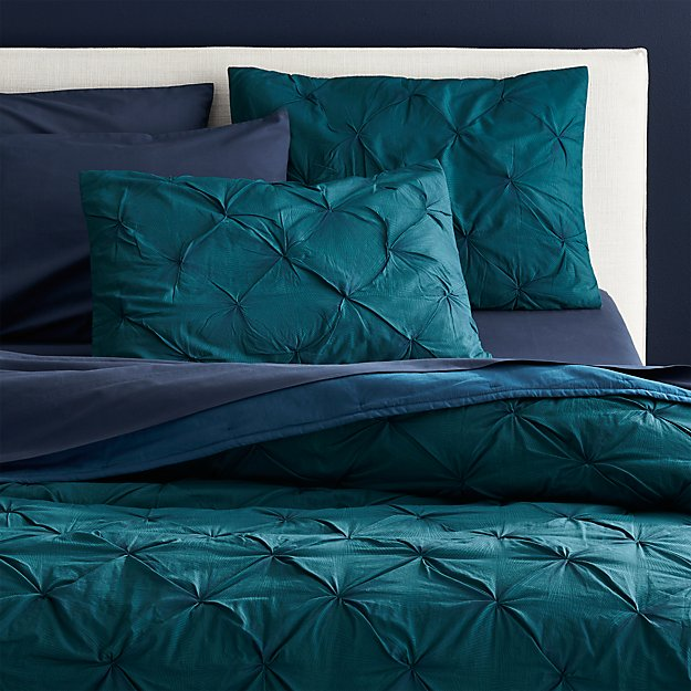 Prisma Blue Green Fullqueen Quilt Reviews Cb2