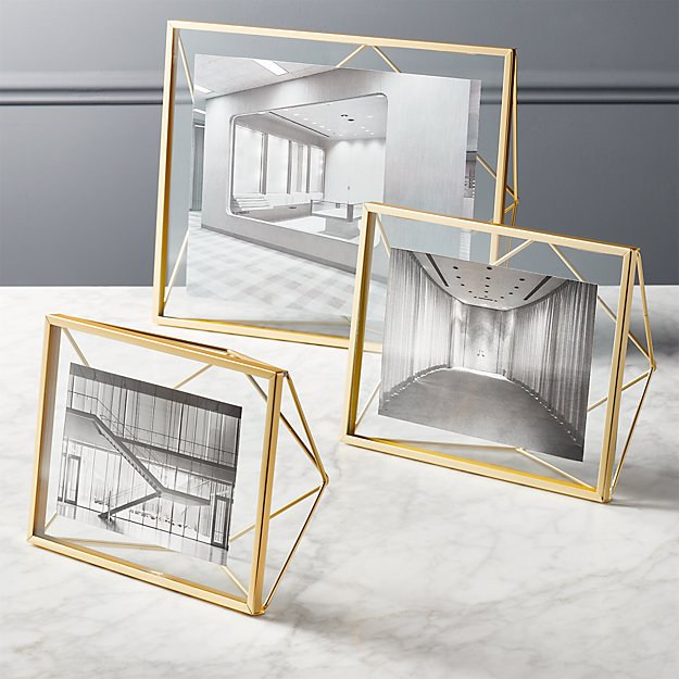 Fantastic Prisma Gold Frames | CB2 OI96