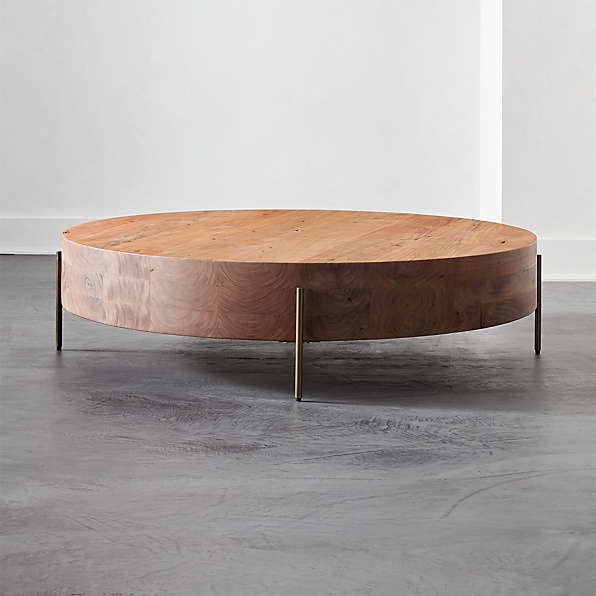 Modern Round Coffee Tables Cb2, Modern Round Coffee Tables
