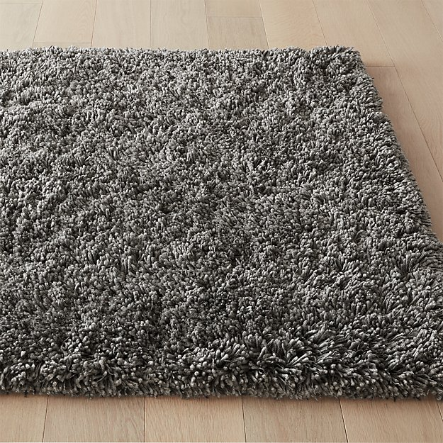 Puli Grey Shag Rug - Image 1 of 7