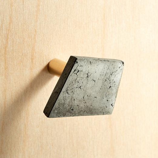 Pyrite Trapezoid Knob