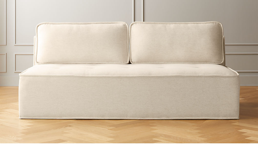 Quattro Snow Tufted Loveseat - Image 1 of 5
