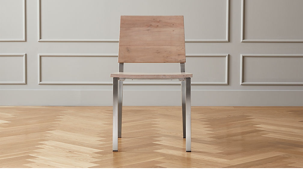 Quinn Wood Dining Chair - Image 1 of 7