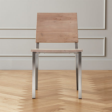Magnificent Quinn Wood Dining Chair Cb2 Ibusinesslaw Wood Chair Design Ideas Ibusinesslaworg