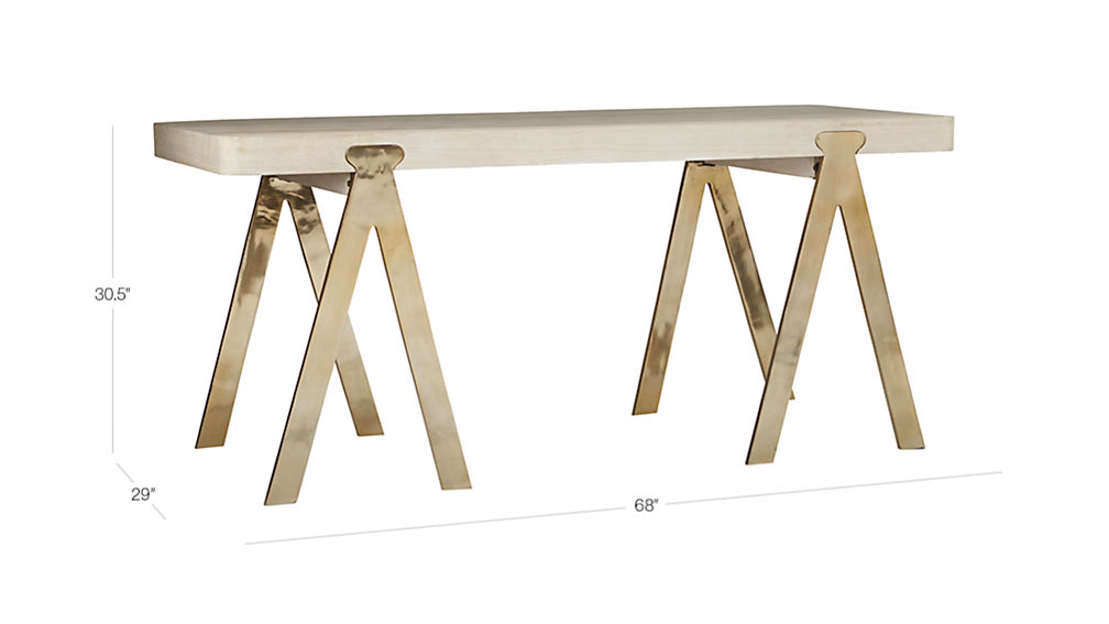 Image with dimension for raba desk