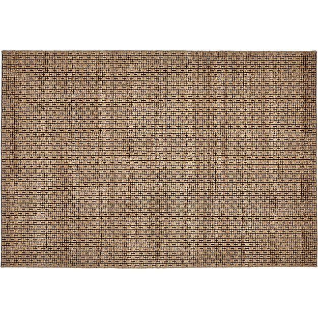 Rail Jute and Cotton Rug 6'x9' - Image 1 of 11