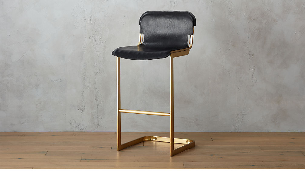Rake Brass 30 Bar Stool Reviews Cb2