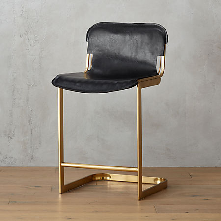 Astonishing Rake Brass 24 Counter Stool Pabps2019 Chair Design Images Pabps2019Com