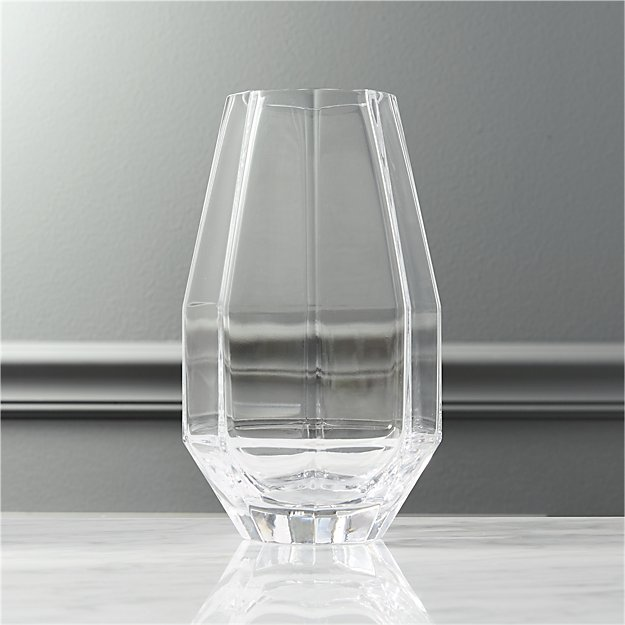 Raleigh Tapered Glass Vase Reviews Cb2