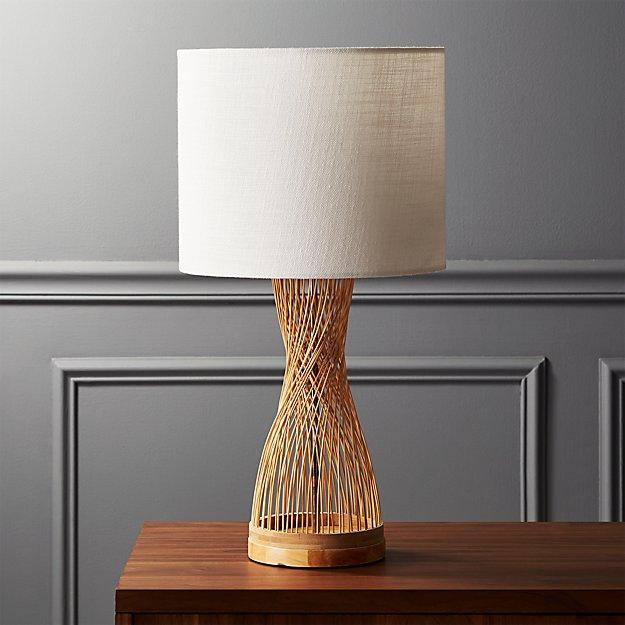 Rattan Table Lamp - Image 1 of 6