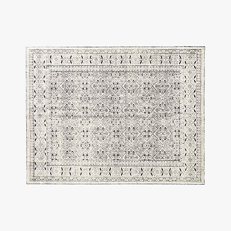 Raumont Handknotted Black Detailed Rug 9 X12 Reviews Cb2
