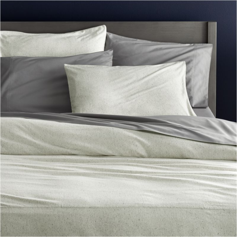 Recycled Jersey Bedding | CB2