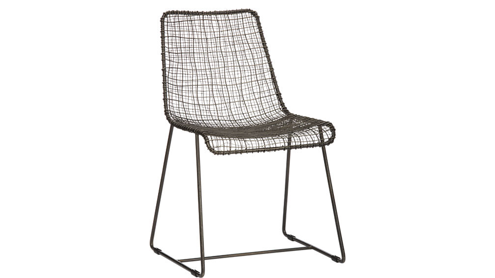 Excellent reed black wire chair + Reviews | CB2 GG17