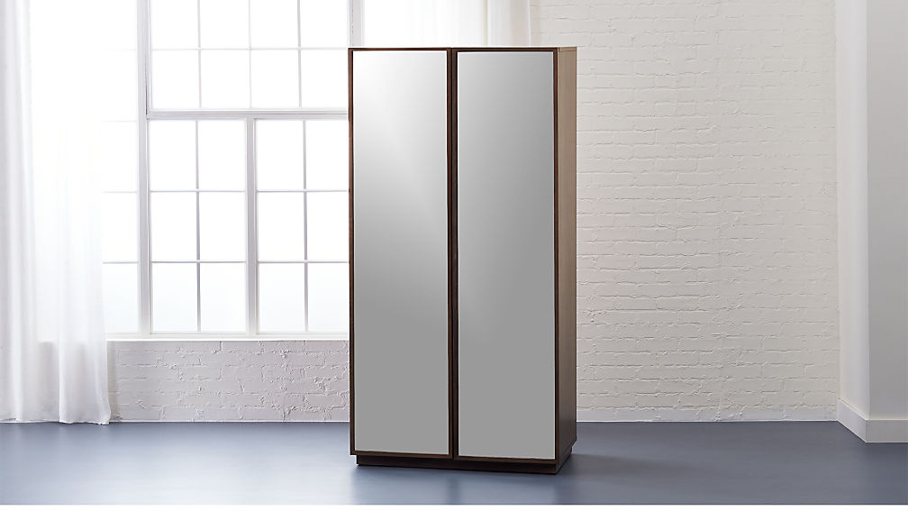 Reflection Mirror Wardrobe Reviews Cb2