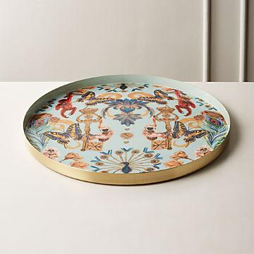 Decorative Coffee Table Trays | CB2