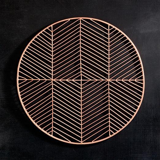 Register Copper Placemat