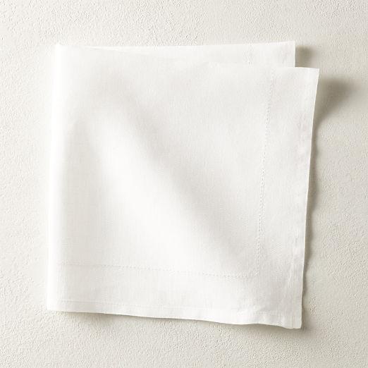 Relaxed Linen White Napkin
