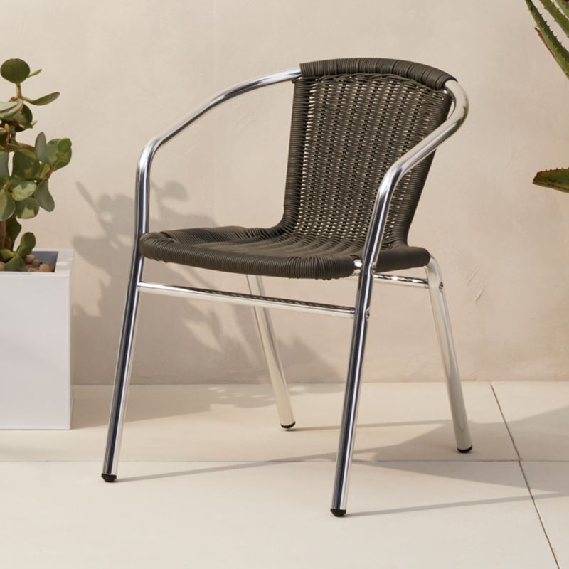 contemporary cb2 patio furniture. Rex Grey Chair Contemporary Cb2 Patio Furniture E