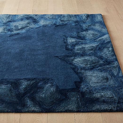 Rhodey Blue Tufted Rug