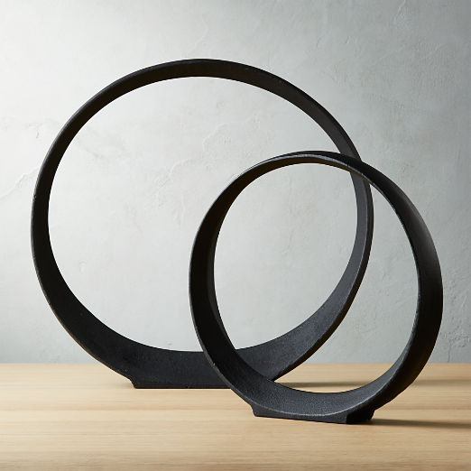 Metal Ring Sculptures