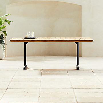 Modern Outdoor Dining Furniture Cb2