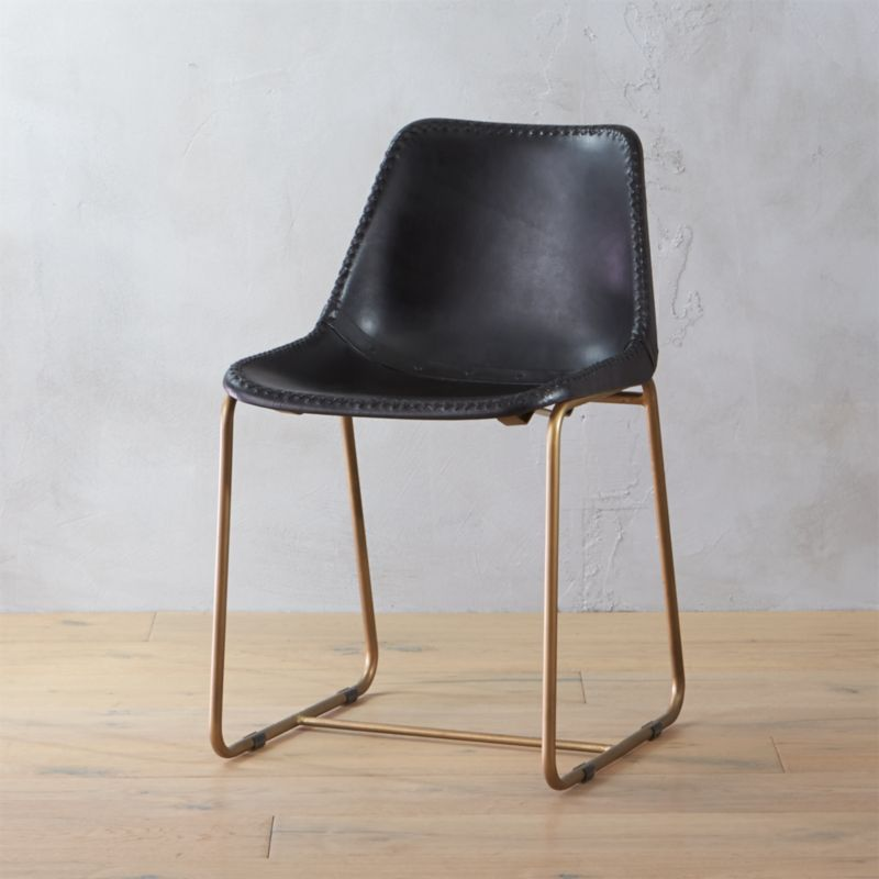 Leather Dining Chairs Cb2