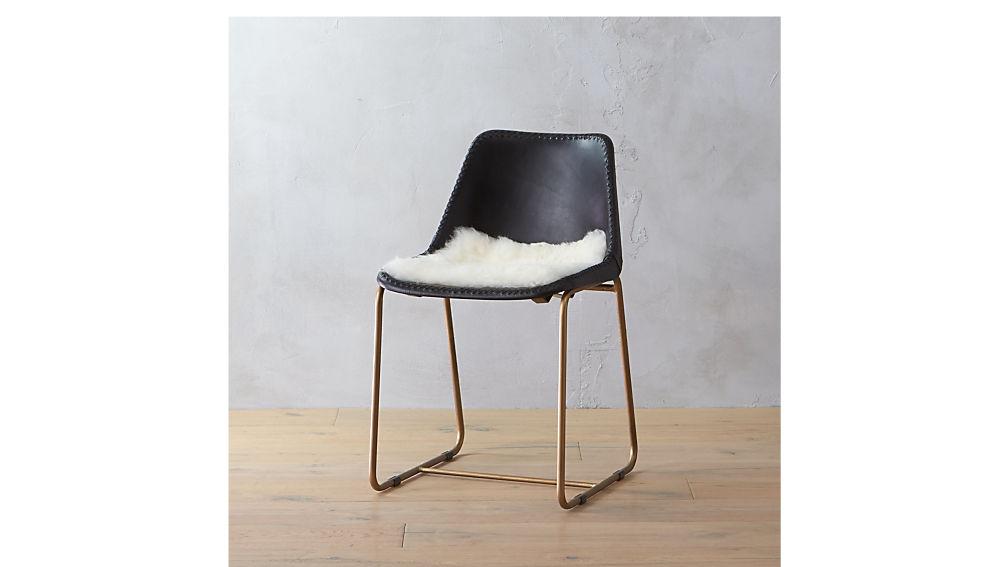 Icelandic Sheepskin Chair Cover + Reviews   CB2