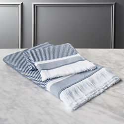 Bath Linens Decorative Bath Towel Sets Cb2
