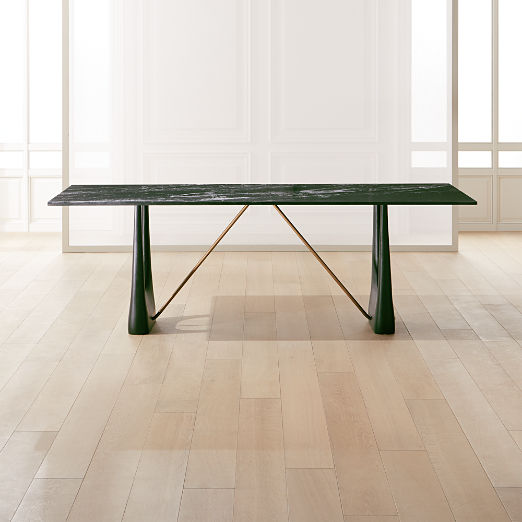 Rocco Rectangular Marble Dining Table