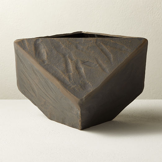 Rock Metal Planter